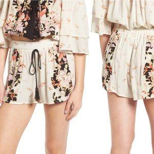 Band of Gypsies Floral Print Shorts